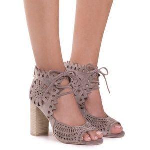New! Jeffrey Campbell Cordia Peep Toe Heels